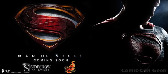 Hot Toys - Man of Steel - Sideshow Collectibles - DC - Superman - Collectible Figures - Header