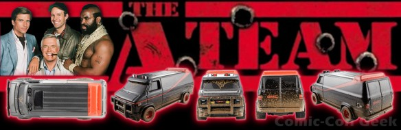 Hot Wheels A-Team Custom GMC Panel Van - Comic-Con 2013 - SDCC Exclusives - Mattel - Matty Collector