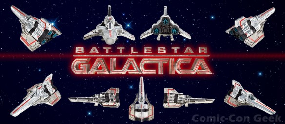 Hot Wheels Battlestar Galactica Colonial Viper - Comic-Con 2013 - SDCC Exclusives - Mattel - Matty Collector