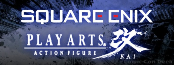 Square Enix - Play Arts Kai - Header