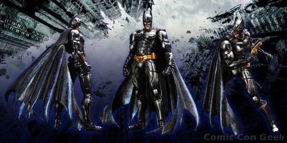Square Enix - Play Arts Kai - The Dark Knight - Black Metallic Version - Comic-Con 2013 - SDCC Exclusives - Batman