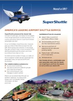 SuperShuttle ExecuCar Brochure