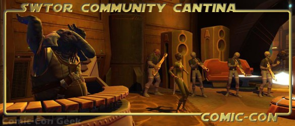 SWTOR Community Cantina - Comic-Con 2013 - SDCC - Star Wars The Old Republic - Header