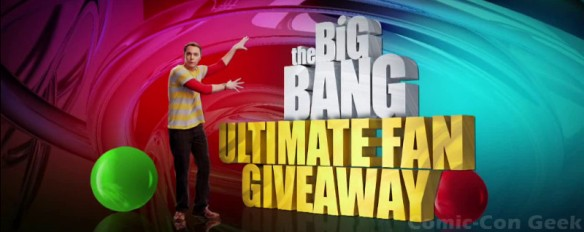 The Big Bang Theory Ultimate Fan Giveaway - Hot Topic - Comic-Con 2013 - CBS - SDCC - Header