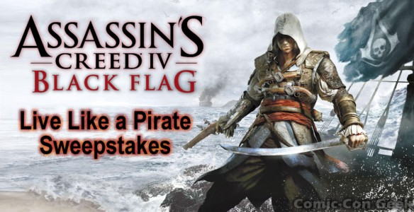 Amazon - Assassin's Creed IV - Black Flag - Live Like a Pirate Sweepstakes - Header