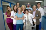 Childrens Hospital - Cast Photo - Henry Winkler - Megan Mullally - Malin Akerman - Erinn Hayes - Zandy Hartig - Ken Marino - Rob Huebel - Rob Corddry - Lake Bell