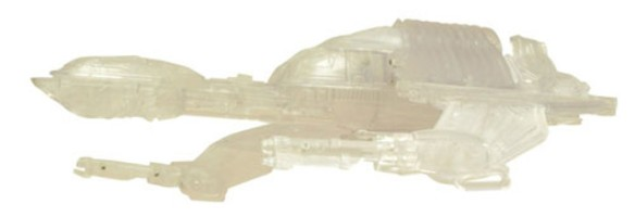 Diamond Select - Star Trek - Fully Cloaked Klingon Bird of Prey - Comic-Con 2013 - SDCC Exclusives - p3