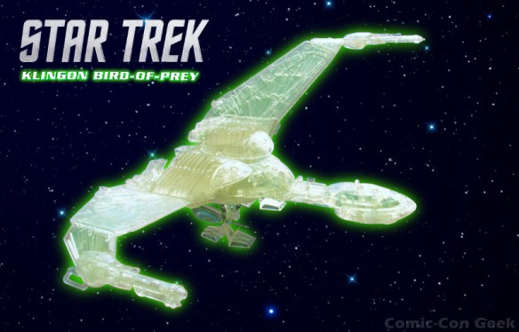 Diamond Select Toys - Star Trek - Fully Cloaked Klingon Bird of Prey - Comic-Con 2013 - SDCC Exclusives