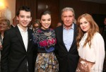 Ender's Game - Harrison Ford, Asa Butterfield, Hailee Steinfeld and Abigail Breslin - Summit Entertainment