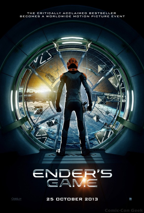 Ender's Game - Movie Poster - Summit Entertainment - OddLot Entertainment