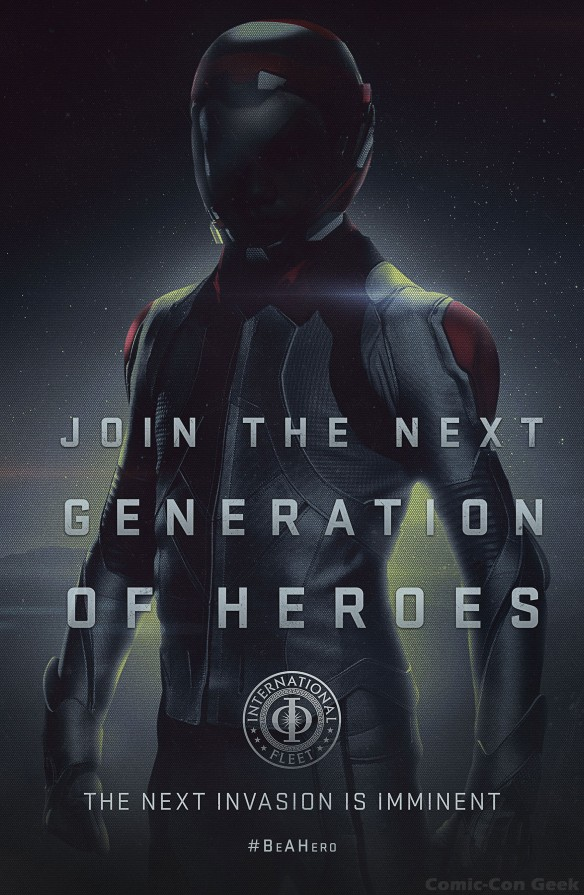 Ender's Game - Sentinel Poster - Join the Next Generation of Heroes - Be A Hero - Summit Entertainment - OddLot Entertainment