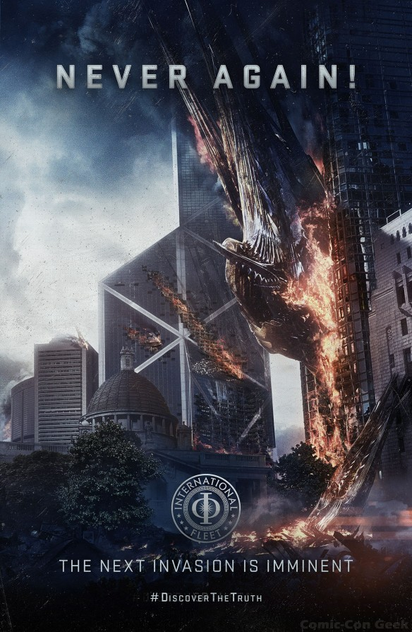 Ender's Game - Sentinel Poster - Never Again - Discover the Truth - Summit Entertainment - OddLot Entertainment - The Next Invasion Is Imminent