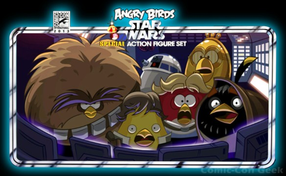 Hasbro - Angry Birds Star Wars Special Action Figure Set - Comic-Con 2013 - SDCC Exclusives - Header