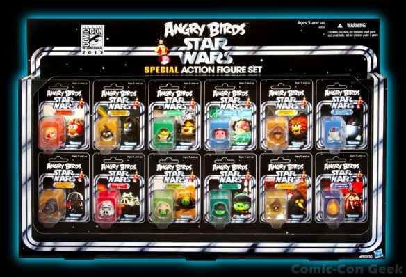 Hasbro - Angry Birds Star Wars Special Action Figure Set - Comic-Con 2013 - SDCC Exclusives