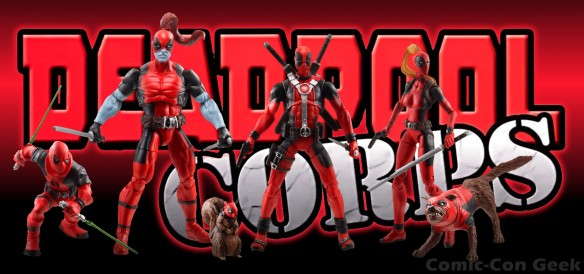 Hasbro - Marvel Universe - Deadpool Corps Team - Comic-Con 2013 - SDCC Exclusives