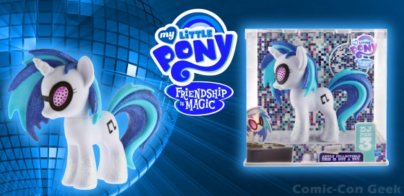 Hasbro - My Little Pony - Friendship is Magic - DJ Pon-3 - Comic-Con 2013 - SDCC Exclusives