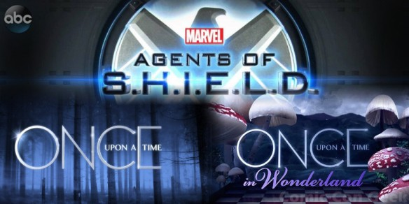 Marvel's Agents of S.H.I.E.L.D. - Once Upon A Time - Once Upon A Time In Wonderland - ABC - Comic-Con 2013 - SDCC Panels - Header