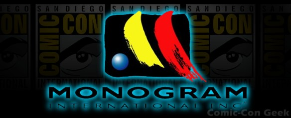 Monogram International - Comic-Con - SDCC - Header