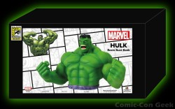 Monogram International - The Incredible Hulk - Resin Bank - Comic-Con 2013 - SDCC Exclusives - Marvel - Box Label