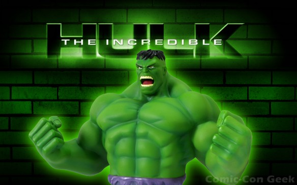 Monogram International - The Incredible Hulk - Resin Bank - Comic-Con 2013 - SDCC Exclusives - Marvel
