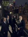 Person of Interest - Cast Photo - Jim Caviezel - Taraji P. Henson - Kevin Chapman - Michael Emerson