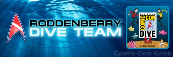 Roddenberry Dive Team - Comic-Con Dive and Cleanup - SDCC - Birch Aquarium at Scripps - La Jolla Shores - Header