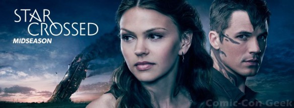 Star-Crossed - Promo Image - Matt Lanter - Aimee Teegarden - The CW - CBS