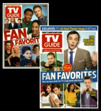 TV Guide Magazine - Fan Favorites - Covers