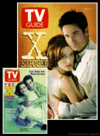 TV Guide Magazine - The X-Files Covers - David Duchovny - Gillian Anderson - Mulder & Scully