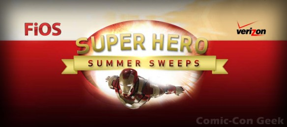 Verizon - Super Hero Summer Sweeps - Nerd HQ - Zachary Levi - Website - Entry Page - SDCC - Comic-Con 2013 - Header