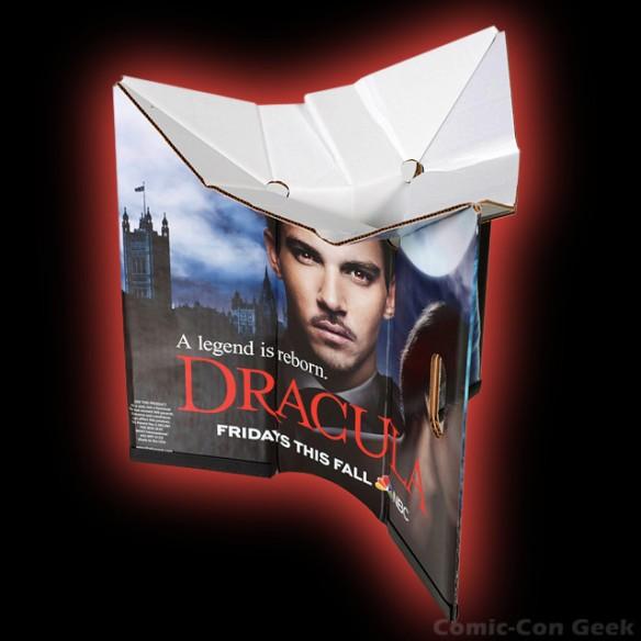NBC - Comic-Con 2013 - Cardboard Box Seat - Dracula - Grimm - SDCC
