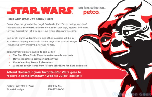 Petco - Star Wars - Yappy Hour - Invitation - Header