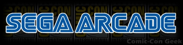 Sega Arcade - Comic-Con 2013 - SDCC - Header