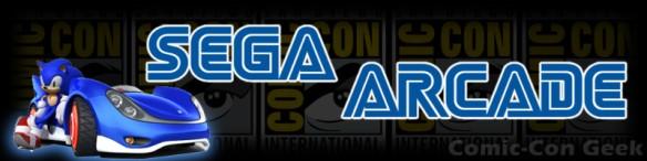 Sega Arcade - Sonic - Comic-Con 2013 - SDCC - Header