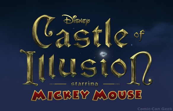 Sega - Castle of Illusion Starring Mickey Mouse - Disney - Logo