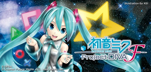 Sega - Hatsune Miku - Project DIVA F - Logo