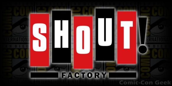 Shout Factory - Comic-Con - SDCC - Header