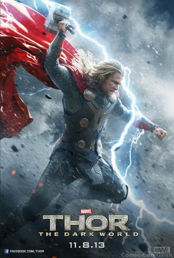 Empire Magazine - Thor - The Dark World - Poster - Chris Hemsworth