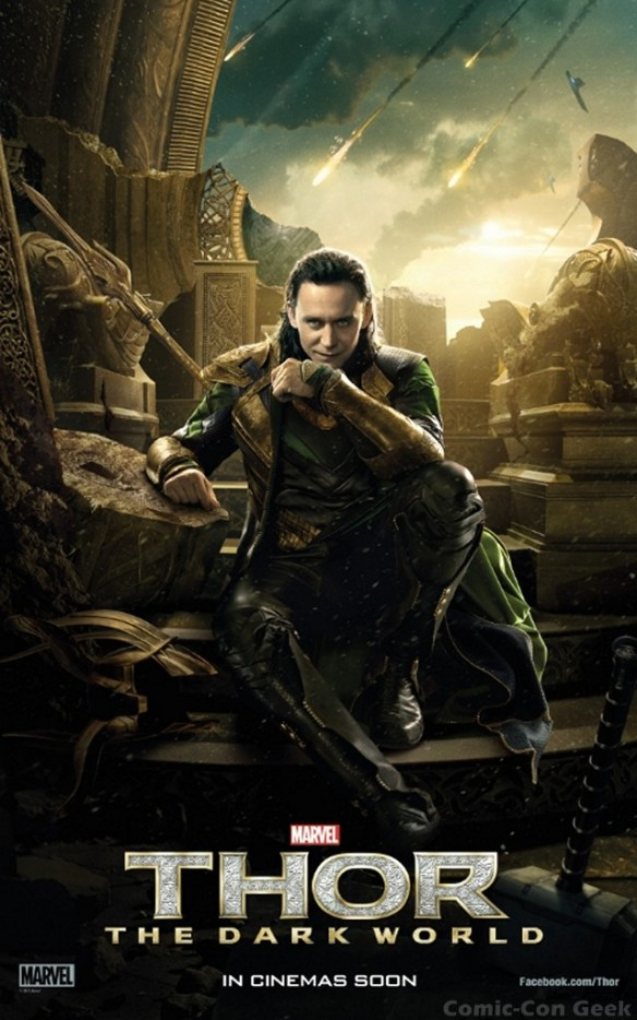 Empire Magazine - Thor - The Dark World - Poster - Tom Hiddleston