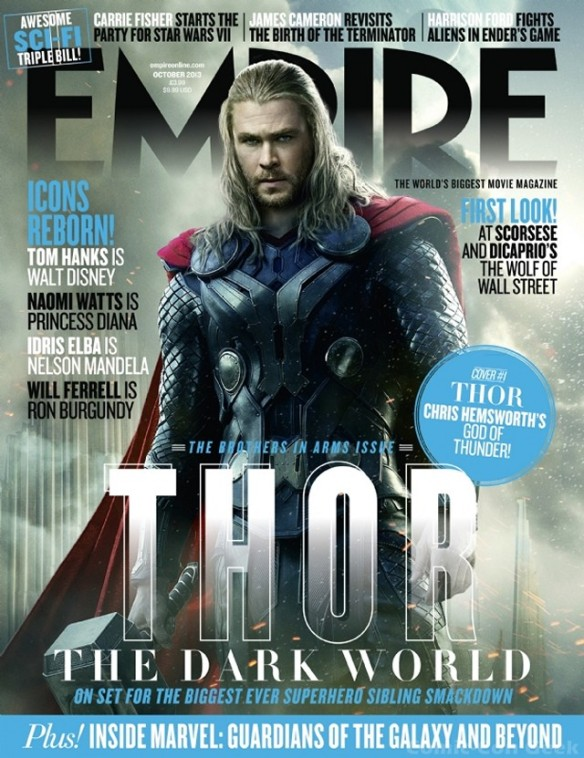 Empire Magazine - Thor - The Dark World - Thor Newstand Cover - Chris Hemsworth