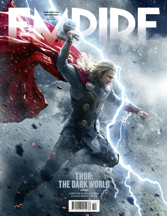 Empire Magazine - Thor - The Dark World - Thor Subscriber Cover - Chris Hemsworth