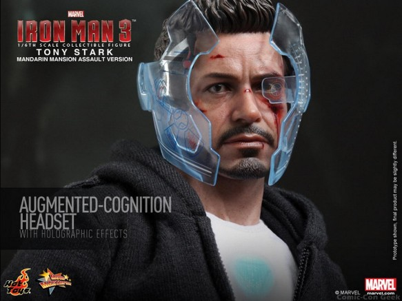 Hot Toys - Iron Man 3 - Tony Stark (Mandarin Mansion Assault Version) Collectible Figurine 012