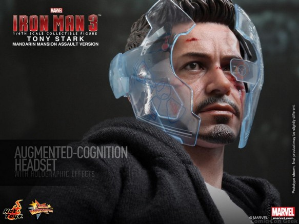 Hot Toys - Iron Man 3 - Tony Stark (Mandarin Mansion Assault Version) Collectible Figurine 013
