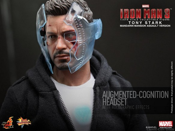 Hot Toys - Iron Man 3 - Tony Stark (Mandarin Mansion Assault Version) Collectible Figurine 014