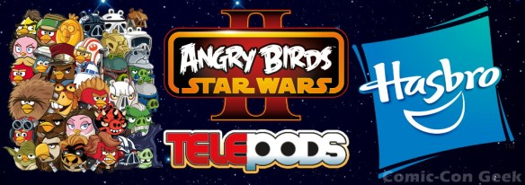 Angry Birds Star Wars II - Hasbro - Telepods - Rovio Entertainment - Lucasfilm - Header - MD