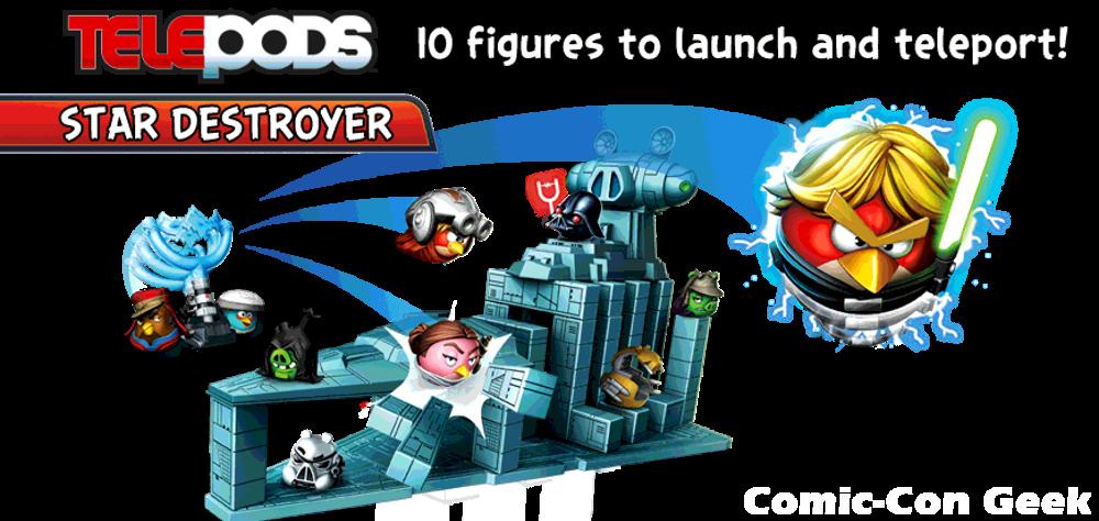 Angry Birds star Wars Telepods Hasbro Rovio Original Lucasfilm 2013