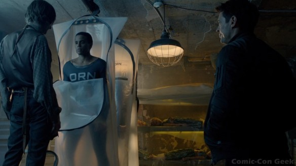 Almost Human - Fox - Bad Robot - Warner Bros. - Karl Urban - Michael Ealy - Minka Kelly - Image 100